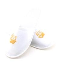 国产 一次性拉毛绒拖鞋 均码 (白色)