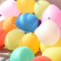 年年新 气球  100个/包 5包/组 颜色随机