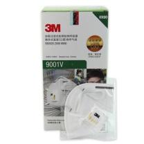 3M KN90 自吸过滤式防颗粒物有呼气阀口罩环保装 9001V
