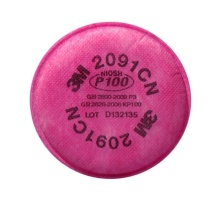 3M P100颗粒物滤棉 2091  2片/包