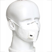 3M 头戴式 一次性带呼吸阀KN95防雾霾PM2.5口罩 9502V