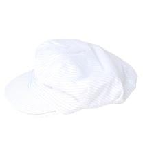 护善 条纹防静电帽 (白条纹)