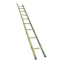纵一 电工竹梯 9步 含梯头,梯脚防护套