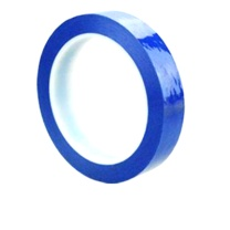 国产 5S桌面定位标识胶带 0.5cm*66M (蓝)