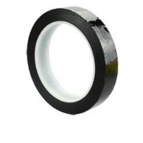 国产 5S桌面定位标识胶带 0.5cm*66M (黑)