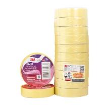 3M PVC电气绝缘胶布 1600# 18mm*20m (黄色) (10卷起订)