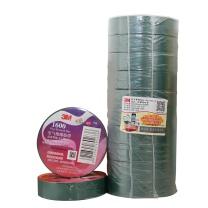 3M PVC电气绝缘胶布 1600# 18mm*20m (绿色) (10卷起订)