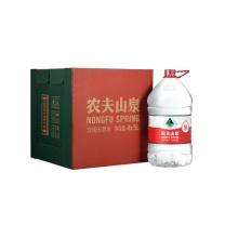 农夫山泉 天然矿泉水 5L (透明) 每箱4瓶