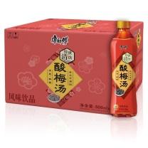 康师傅 Master Kong 酸梅汤 500ml/瓶  15瓶/箱
