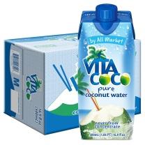 唯他可可 天然椰子水 330ml/瓶 12瓶/箱