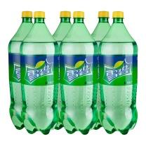 雪碧 Sprite 碳酸饮料 2L/瓶 6瓶/箱  (大包装)