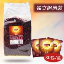 立顿 Lipton 黄牌精选红茶 A80 2g/包  80包/盒 24盒/箱 (独立纸包装)