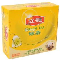 立顿 Lipton 绿茶 2g/包  100包/盒 12盒/箱