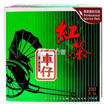 车仔 红茶 2g/包  200包/盒 18盒/箱