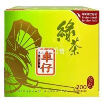 车仔 绿茶 2g/包  200包/盒 18盒/箱