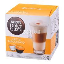 雀巢 Nestle 胶囊咖啡机胶囊  16粒/盒 (拿铁玛奇朵咖啡)(适用机型 德龙EDG626、EDG606、EDG456 3盒/箱)