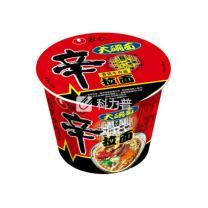 农心 辛拉面 香菇牛肉面 114g/桶  16碗/箱
