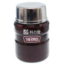 膳魔师 不锈钢真空保温焖烧罐 SK-3000-CBW 470ml (咖啡色)