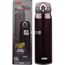膳魔师 超轻款不锈钢真空保温杯 JNL-600-DPL 600ml (黑色)