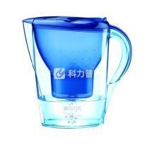 碧然德 BRITA 金典滤水壶 Marella-XL-3.5L 3.5L单芯 (蓝色) 星光蓝