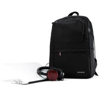 新秀丽 Samsonite DAVOS电脑双肩包 663*09008 31*45*12cm (黑色) (MOQ:10)