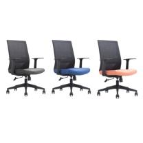 东港 职员椅(3把起订) C0002A (黑色)