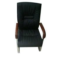 沪恩隆 ENLONG 西皮会议椅 H985*W490*D500 (黑色)
