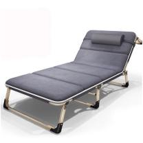 有有家 三折床 四角款+麂皮垫 A4 1930*630mm (灰色)