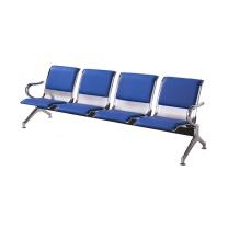 沪恩隆 ENLONG 加皮四人位机场椅 W2300*D650*H780  上海市外运费另询