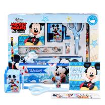迪士尼(Disney)文具礼盒套装/学生儿童幼儿园学习用品/蓝色Z6015