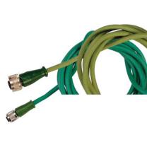 OMEGA K型热电偶延长线,3m M12C-SIL-KI-S-F-3