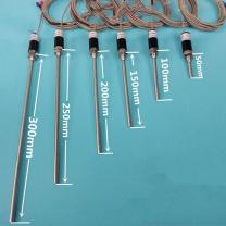 WZP-187不锈钢防水温度传感器探头Pt100铂热电阻KE型热电偶感温棒
