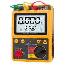 希玛AR4105A接地电阻测试仪摇表数字防雷地阻测量仪
