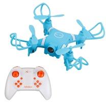 雅得 ATTOP TOYS 雅得(ATTOP TOYS)迷你遥控飞机 四轴掌上无人机 办公室减压玩具儿童玩具(内置航拍)蓝色 迷你航拍飞行器 蓝色