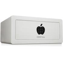 全能 Asafe-2043防盗保管箱 办公家用密码柜全钢入墙酒店柜 白色苹果面板