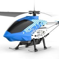 优迪玩具 UdiR/C 优迪遥控飞机D25耐摔直升机3.5通道室内霸主合金耐摔航模型儿童玩具可充电无人机摇控定高悬停飞行器男孩 深蓝