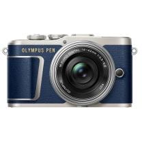 奥林巴斯(OLYMPUS)E-PL9 防抖微单电/数码相机 EPL9小型随身单反4K摄像机 美颜自拍高清旅游 单镜头 蓝色 蓝色