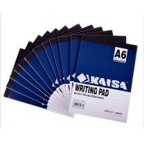凯萨 凯萨(KAISA)00370 A6 拍纸本(148*105mm)60页 12本装 美式拍纸簿 A6