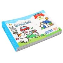 绍泽文化 绍泽文化 儿童图画本 卡通空白幼儿园小学生美术绘画本 10本/20张 蓝色 儿童图画本 蓝色
