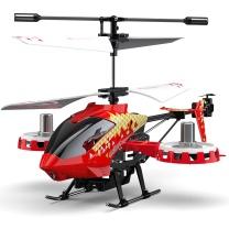 优迪玩具 UdiR/C 优迪D28合金骨架(智能定高)耐摔直升机遥控飞机迷你无人机阿发达造型直升飞机儿童玩具飞机 直升机 (红色) 直升机 (红色)