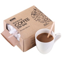 唐宗筷 一次性 咖啡搅拌棒 搅拌木质咖啡调棒 14cm 300支 C6653