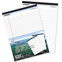凯萨 凯萨(KAISA)拍纸本Legalpad美式笔记本 50张A4(216*298mm) 2本装 KS-01957 A4 白纸2本装