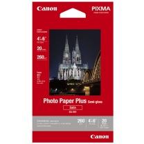 佳能 Canon 佳能(Canon)SG-201 4X6 (20) 亚高光泽照片纸 亚高光泽6寸 20张