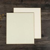 弘梅 弘梅手工国画宣纸卡纸 小楷书法绘画作品纸宣纸款 生宣硬卡纸加厚镜片纸 宣纸款