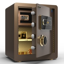 大一(DAYI)保险柜 办公家用保险箱 荣耀系列密码款45cm典雅白 时尚保险柜 典雅白45cm密码款