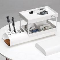 HANASS HANASS 桌面收纳盒 多功能北欧创意组合置物架家用办公桌面整理盒 帆船收纳盒