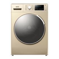 三洋 SANYO 三洋(SANYO)8公斤变频滚筒全自动洗衣机 等离子焊接内筒 中途添衣 速溶洗(凯撒金)WF80B576SJ 8公斤变频滚筒(凯撒金)
