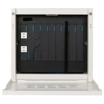 配电箱 西门子(SIEMENS)弱电箱 锐逸系列 10位智能家居配线箱 多媒体光纤箱信息箱(含模块) 10位套装