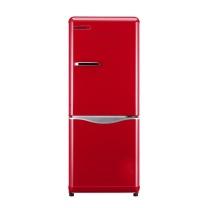 大宇 大宇(DAEWOO)ODF-M300R 150L 经典复古迷你小型双门电冰箱 家用无霜 冷藏保鲜 魔力红色 150L 复古冰箱 魔力红色
