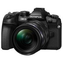 奥林巴斯(OLYMPUS)E-M1 Mark II(12-40mm PRO) 黑色 EM1II 微单电/数码相机 高速连拍 专业单镜头套装 12-40mm PRO套机